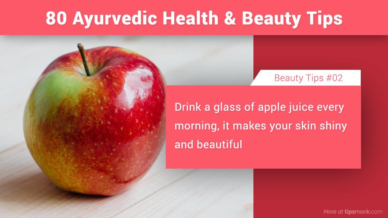 80 simple u0026 natural ayurvedic health u0026 beauty tips, home remediesayurvedic beauty tips for shiny skin at home image tipsmonk