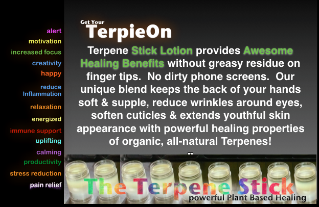 I love Terpene Stick
