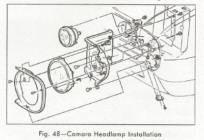 steve 39 s camaro parts 1967 camaro head lamp information. Black Bedroom Furniture Sets. Home Design Ideas