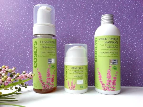 Coslys, le trio de produits pour peaux grasses ! (+ concours)