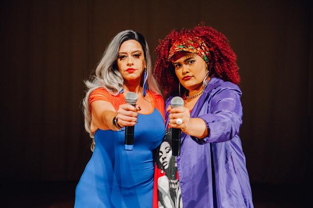 A rapper Vera Verônika aborda a realidade da mulher negra brasileira em seu mais novo vídeo ao vivo