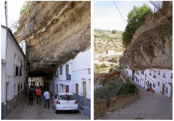 Kota Unik Seolah Tertimpa Batu Raksasa (FOTO)