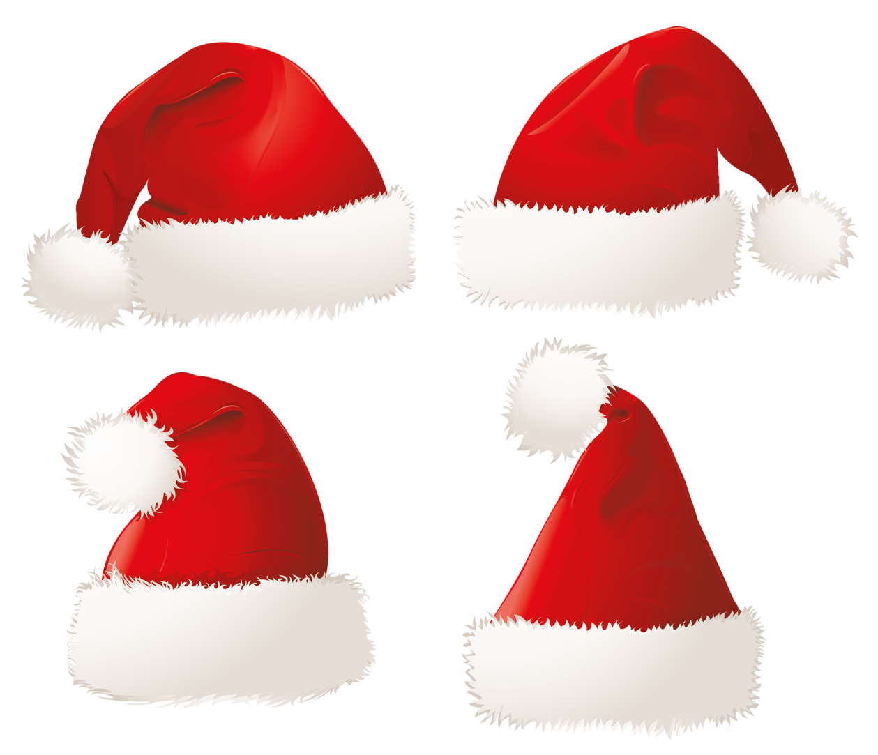 santa hat clipart with transparent background - photo #22
