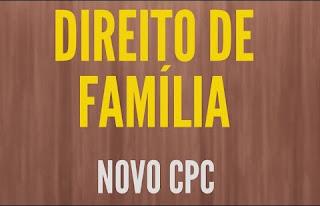 Direito de Família no Novo CPC