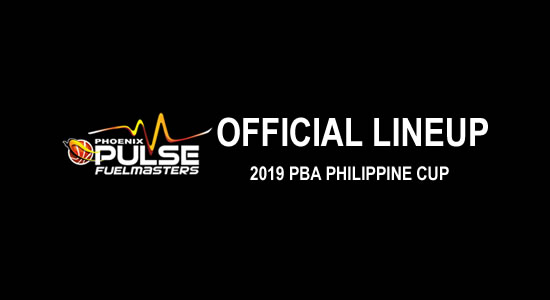 LIST: Phoenix Pulse Fuel Masters Official Lineup 2019 PBA Philippine Cup