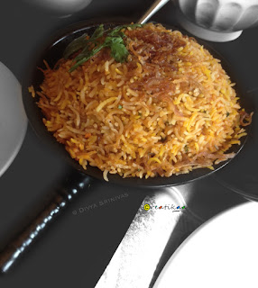 Salt Restaurant Review - Vijaya Forum Mall - Egg Biriyani