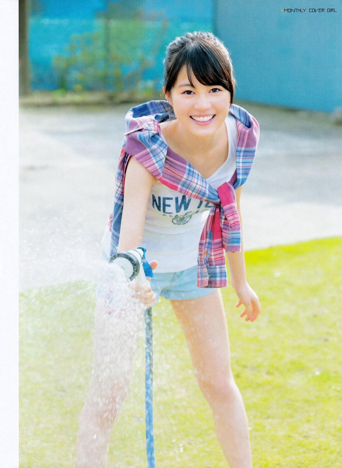 Ikuta Erika 生田絵梨花 Nogizaka46, ENTAME Magazine 2016.07 Gravure