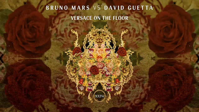 Album art of Bruno Mars Vs David Guetta 'Versace On the Floor'