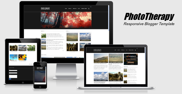 Photo Therapy Responsive Blogger Template
