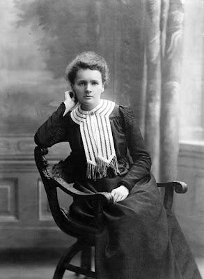 Marie Curie, ca. 1905 foto blanco y negro