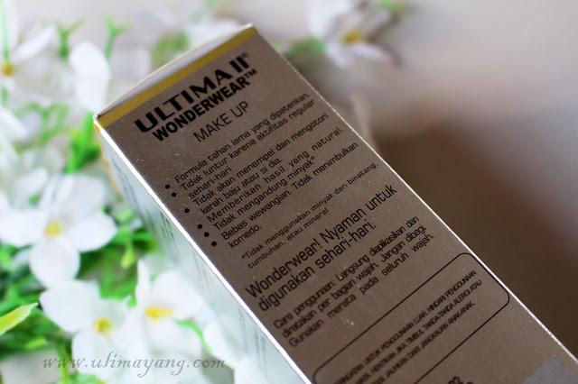 Review-kemasan-ultima-ii-wonderwear-make-up-liquid-foundation-no-02-shade-neutral