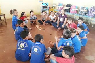 """Ceacri promove oficina sobre o tema """"Brincando nos fortalecemos para situações difíceis"""" na localidade de Cajuás"""