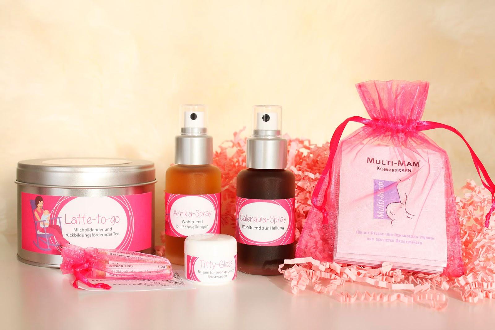 Die Wochenbettbox und ihre Produkte für die junge Mama oder Mehrfachmutter