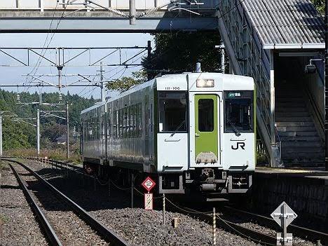 【ダイヤ改正以前から登場!】キハ110系のワンマン 黒磯行き