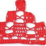 Mantelito Individual a Crochet