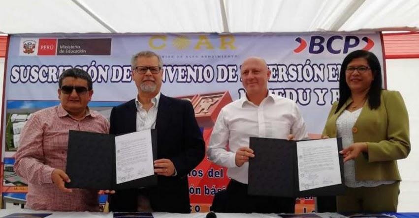MINEDU construirá COAR Lambayeque con la modalidad de Obras por Impuestos - www.minedu.gob.pe