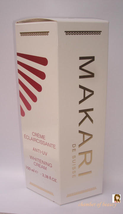 Makari de Suisse Anti-UV Whitening Cream- Review