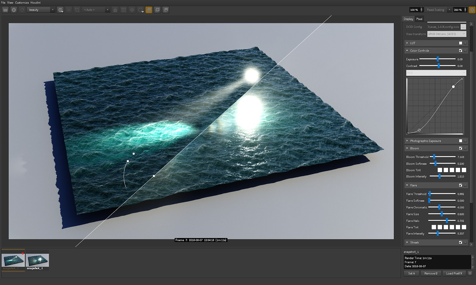 Redshift Render View Post FX Alpha 2 6 19 Preview | Redshift