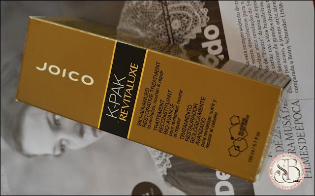Somando Beleza JOICO K-PAK REVITALUXE BIO ADVANCED RESTORE - TRATAMENTO