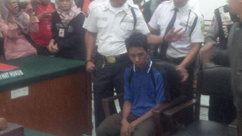 Roymardo Sah Siregar jalani sidang vonis di PN Medan