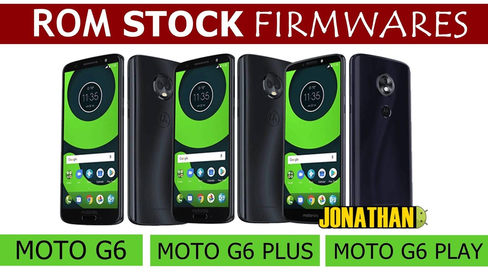 ROM STOCK - FIRMWARES ANDROID 8 0/8 1 OREO - PARA MOTO G6
