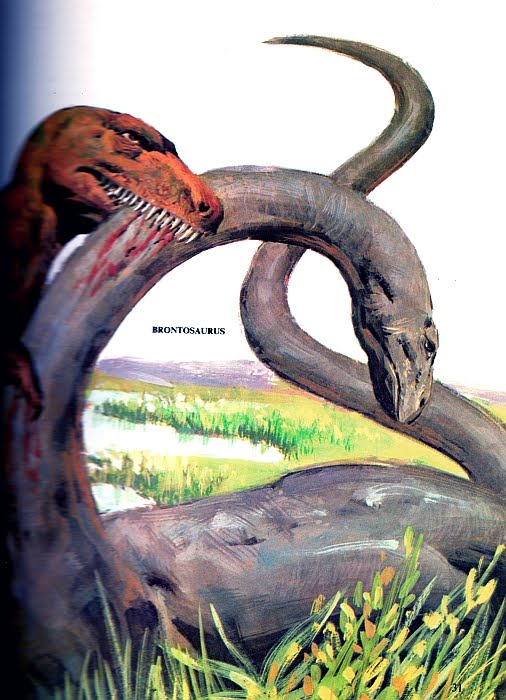 Love in the Time of Chasmosaurs: Vintage Dinosaur Art ...