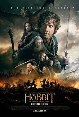 affiche Le Hobbit La Bataille des Cinq Armées