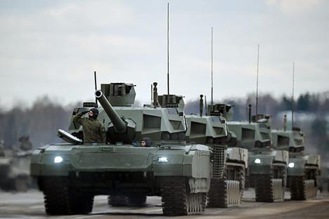 Melihat Kecanggihan Armata T-14, Tank Terbaru Pasukan Rusia