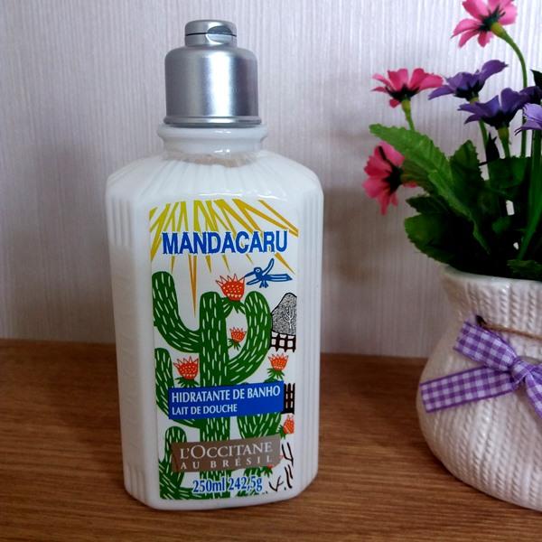 Loção desodorante corporal de banho: Mandacaru da L'Occitane