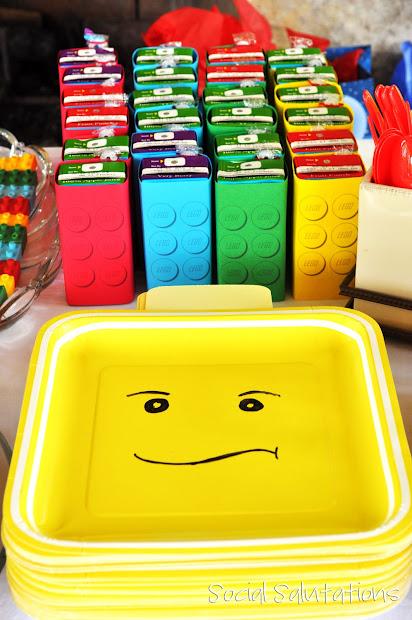 LEGO Party Juice Box