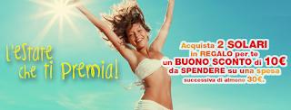 Logo L'estate ti premia con buoni sconto da 10 euro