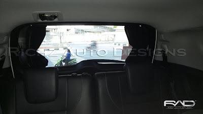 korea car curtain
