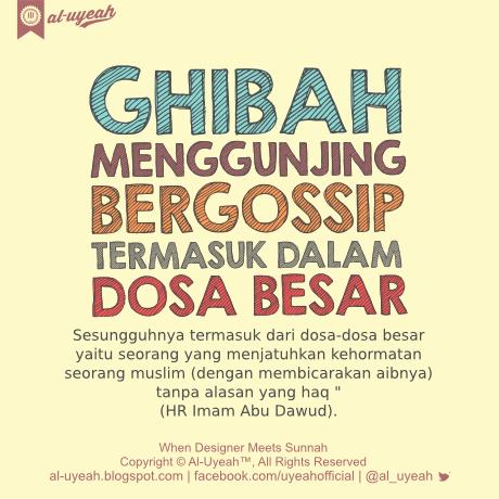 Kiat Menghindari Ghibah menurut Imam Al-Ghazali