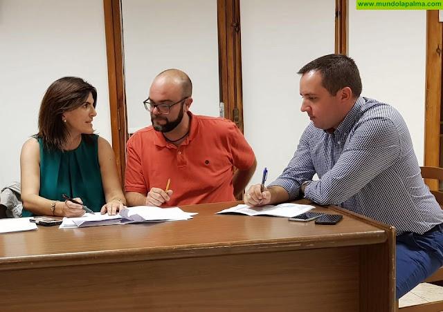 Coalición Canaria en Puntallana mantienen reuniones con la Consejería de Educación para mejorar las instalaciones educativas del municipio