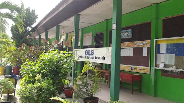 Gerakan Literasi Sekolah, di SMP Negeri 1 Siak Hulu