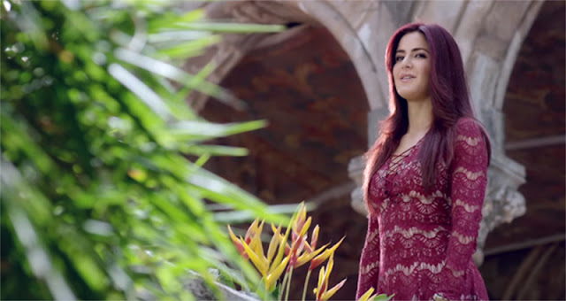 Katrina kaif's hair colour in Fitoor