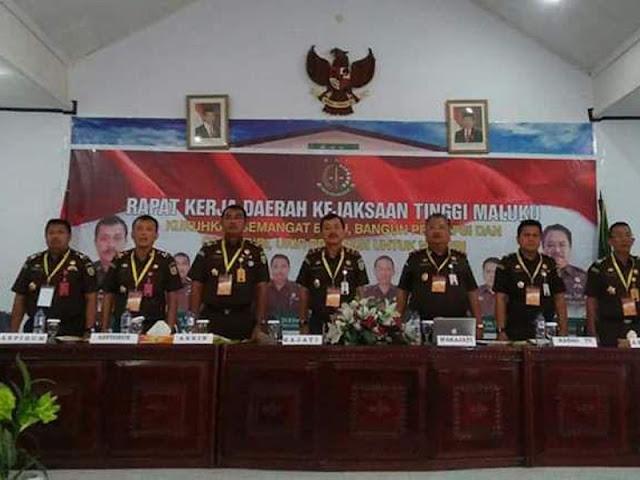 Kejati Maluku Gelar Rapat Kerja Daerah