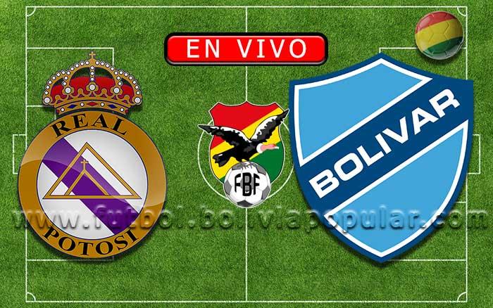 【En Vivo】Real Potosí vs. Bolívar - Torneo Clausura 2019