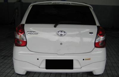 Eksterior Toyota Etios Valco