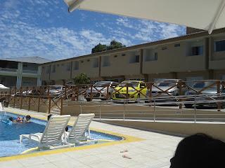 Foto entrada do hotel Aram Ponta Negra-RN