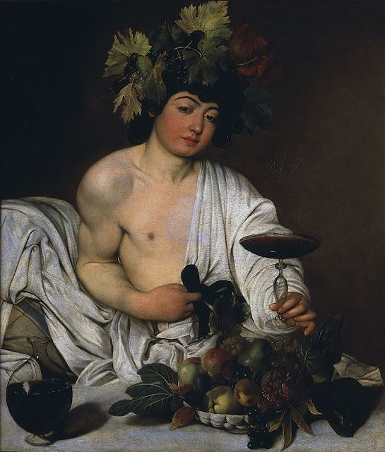 Dionysus in Bacchus  by Caravaggio