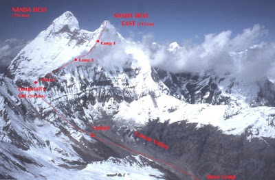 Nanda Devi, second highest  peak and the mystery of missing plutonium!! - Navrang India
