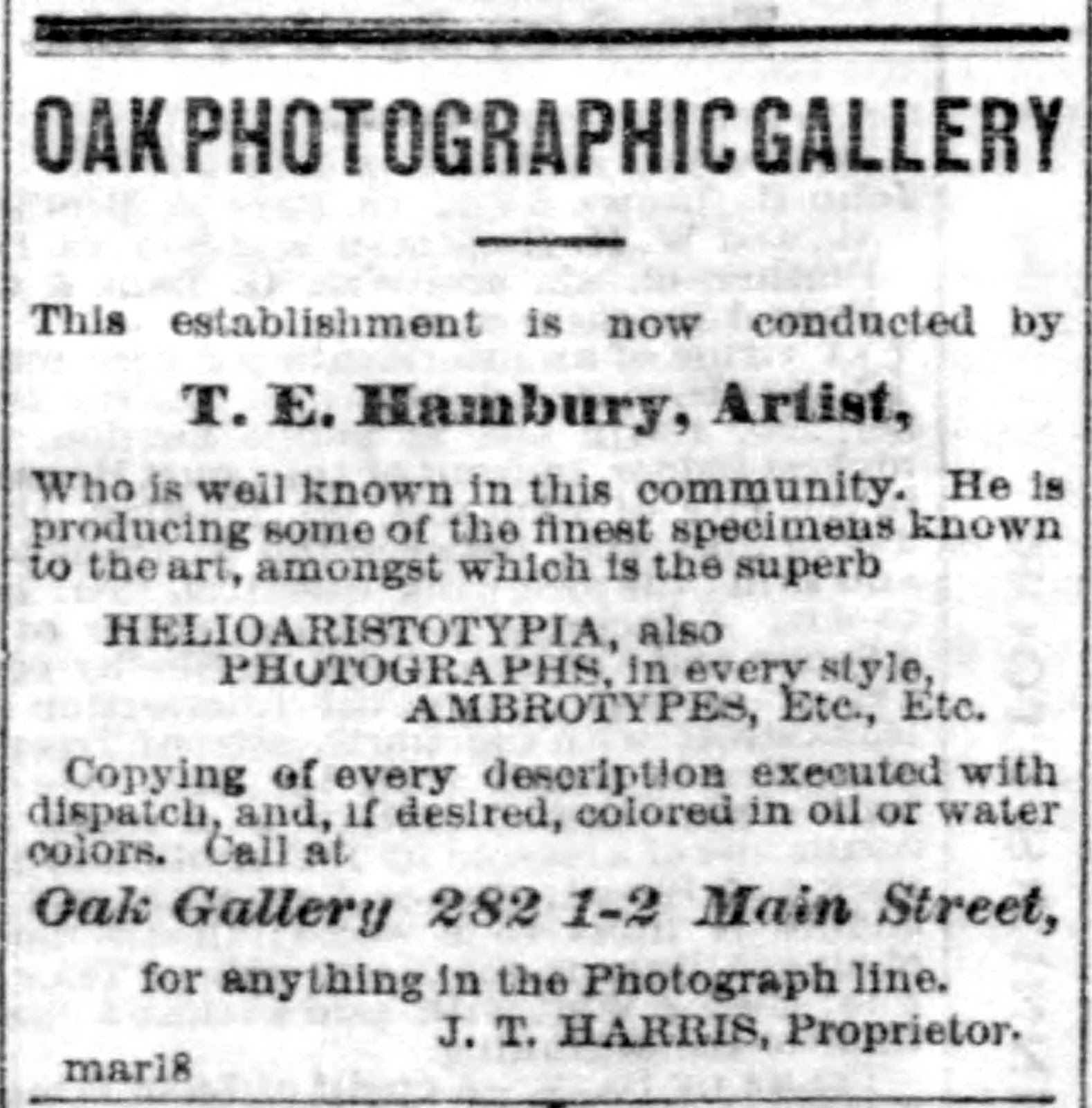 Lost Gallery  Photographers of the 19th Century - Oak Gallery a00cba19a8
