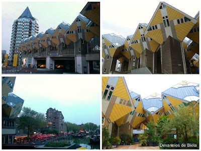 Dicas de roteiro por Rotterdam - casas cubo