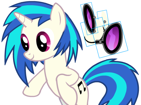 equestria daily mlp stuff vinyl scratch flash version eye colors