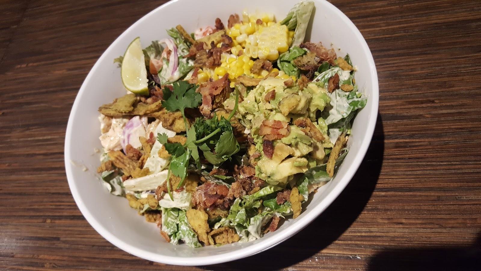Noodles & Company chicken veracruz salad
