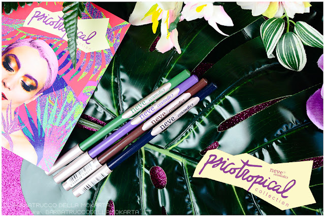 biopastello occhi eyepencil psicotropical collection neve cosmetics