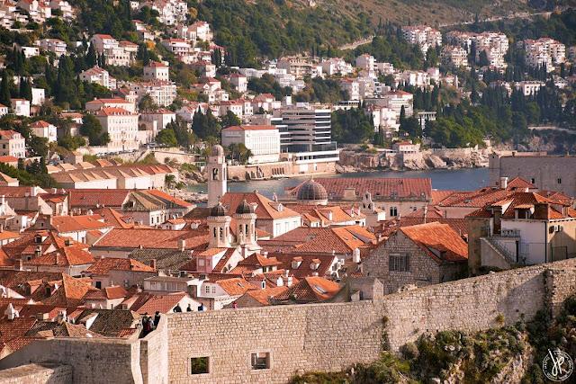coastal city of dubrovnik, croatia