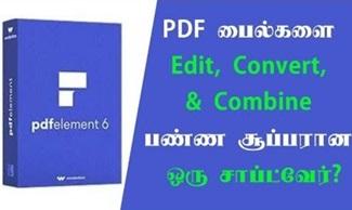 Best alternative to Adobe® Acrobat® is PDFelement