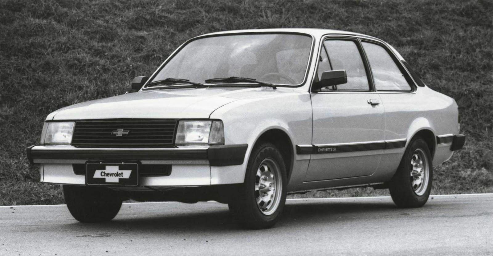 Chevrolet j vendeu 15 milh es de ve culos no brasil car for Chevette 4 portas
